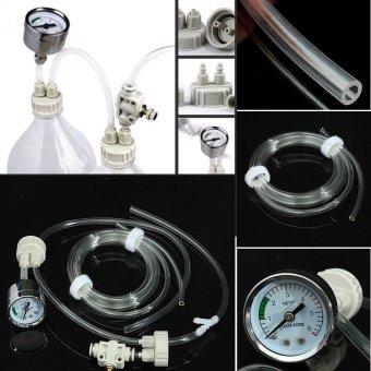 Plastic Aquarium Water Plants Tank DIY CO2 Regulator Generator System Kit D201 - intl