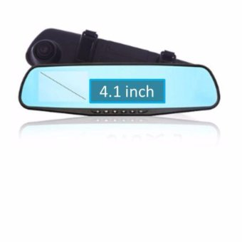 Camera hành trình xe hơi tích hợp gương và camera DVR C03 (4.1 inch)