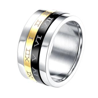 R014-A-8 Fahion titaniu tee ring TGR014-A-8