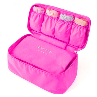 Túi đựng đồ lót du lịch Monopoly Underwear - Kim Phát (Hồng)