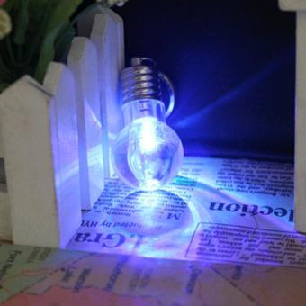 Bóng đèn móc khóa 7 màu không vỡ, không cần nguồn điện - K Store