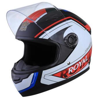 Mũ bảo hiểm Royal 136 (Tem đen V3)