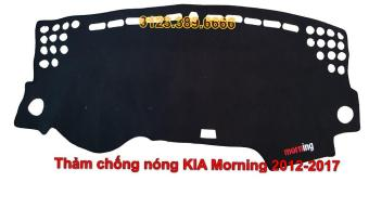 Thảm chống nắng Taplo ô tô KIA Morning đời 2012-2017