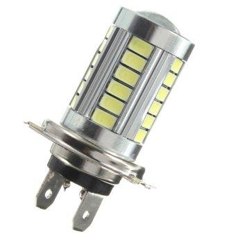 2PCS H7 5630 33 SMD LED White 800LM Car Fog Headlight Daytime Running DRL Light - intl
