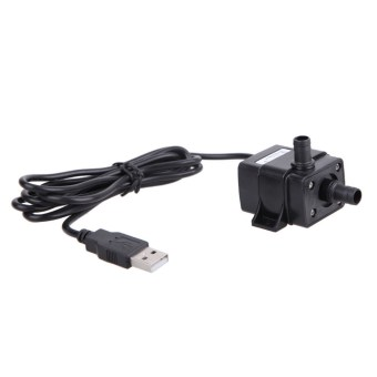 USB DC 5V 3W Submersible Water Pump Aquarium Fish Tank Fountain Pond - Intl
