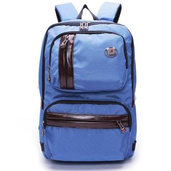 Ba lô laptop thời trang Polo Banker 13208 (Xanh dương)
