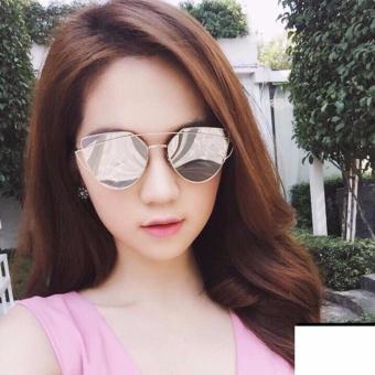 Mắt Kính Thời Trang Nữ Kiểu Hàn Quốc zaha68 ( màu bạc)