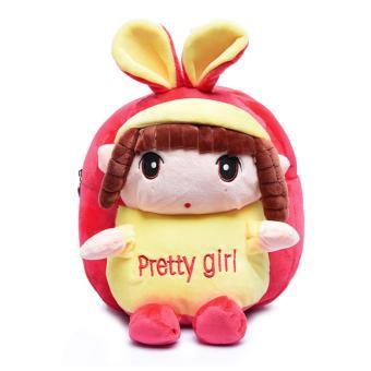 Balo công chúa Pretty Girl dễ thương cho bé gái (Hồng)