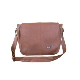 Túi đeo hông giả da KityBags si080 (Be)