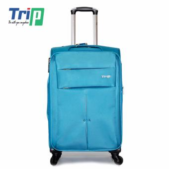 Vali Vải TRIP P030 Size M - 24inch (Xanh thiên thanh)