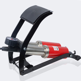 Bơm hơi đạp chân Mini đa năng tiện dụng (2 Pittong)