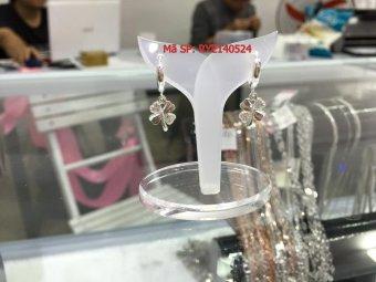 Bông tai bạc nữ S925 Italia Bạc Xinh RYE140524