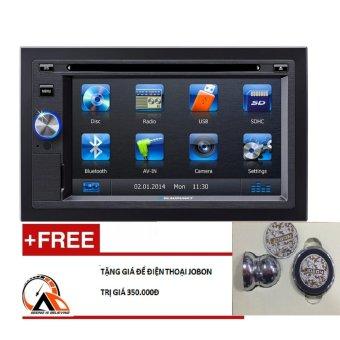 Đầu DVD ô tô Blaupunkt San Diego 530 (SD530) đen +Tặng giá để điện thoại