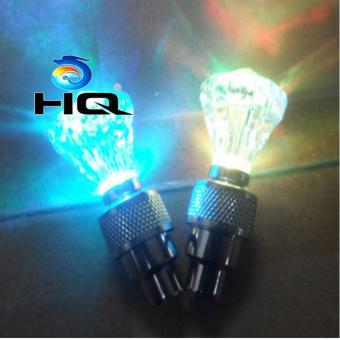 Bộ 4 Đèn Led Gắn Van Xe HQ 3TI09-14(xanh lam)