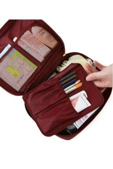 Túi du lịch đựng đồ cá nhân Monopoly - chodeal24h (Cam nhạt)