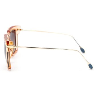 Bộ 1 Mắt kính nữ Polaroid và 1 chai nước lau kinh PAN 2052 (Trà trong)