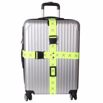 Dây đai khóa vali du lịch chữ thập