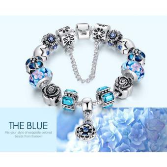 Vòng tay trang sức hạt Panda Charms Jewelry Queen Victoria Charm DZ59 (Bạc)