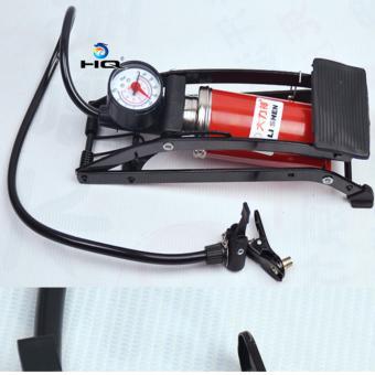 Bơm hơi đạp chân chuyên dụng cho ô tô. xe máy, xe đạp HQ 3TI80