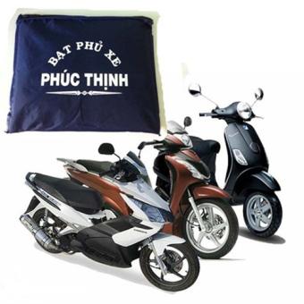Bạt phủ xe máy vải dù chống thấm nước cho xe tay ga