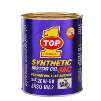 Nhớt dùng cho xe số Top 1 MC Synthetic Motor Oil 20W50 1L