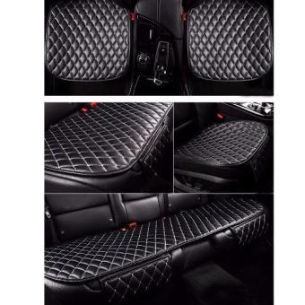 Bộ lót ghế da cho ô tô mẫu 3 (Đen)