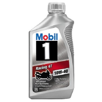 Nhớt tổng hợp Mobil 1 Racing 4T 10W40 Advanced Full Synthetic 946ml