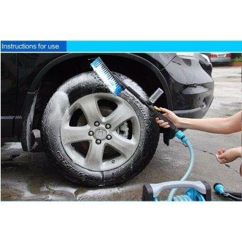 Chổi rửa xe đa năng (màu Xanh)