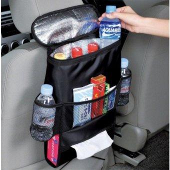 Túi đựng đồ lạnh du lịch trên ô tô HQ206066 (Đen)