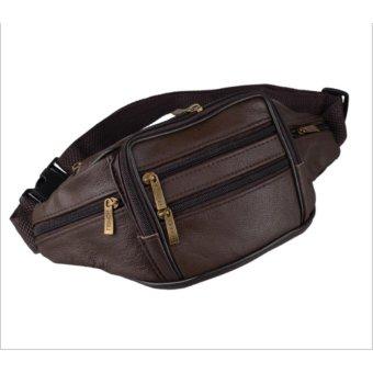 Túi bao tử da, túi đeo bụng da-TB1