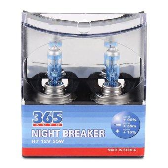 Bộ 2 bóng đèn ô tô 365-Auto H7 Night Breaker 12V