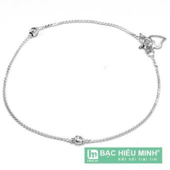 Lắc tay nữ Bạc Hiểu Minh ltu001 (Bạc)