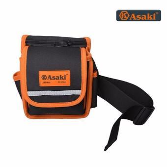 Túi đeo thắt lưng đựng đồ nghề 7 ngăn Asaki AK-9984