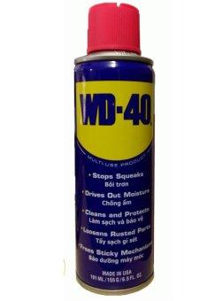 Chai xịt vệ sinh sên WD-40 cao cấp cho xe xích trần 191ml