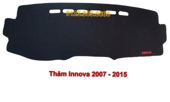 Thảm Taplo xe Inova đời 2007-2015