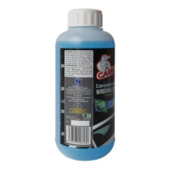 Bộ 02 chai : Nước Châm Bình Rửa Kính Ô tô đậm đặc CARREL 500ml và Nước Rửa Xe Ô tô đậm đặc bảo vệ lớp sơn xe CARREL 500ml