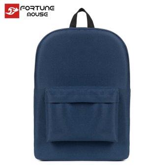 Ba lô thời trang Fortune & Mouse 2401 (Xanh dương đen)
