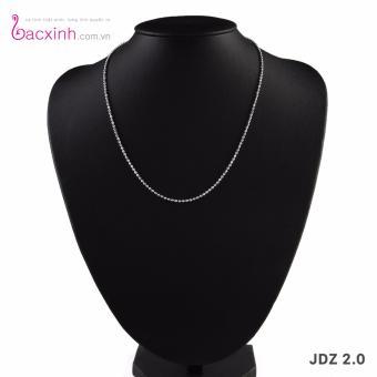Dây chuyền nữ trang sức bạc Ý S925 Bạc Xinh JDZ2.0