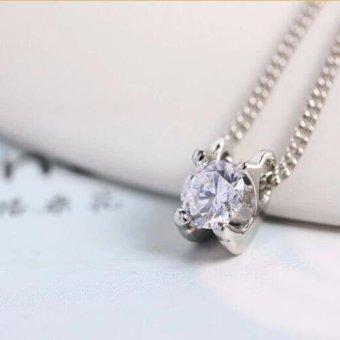 Dây chuyền hạt đá sáng lấp lánh phong cách Hàn