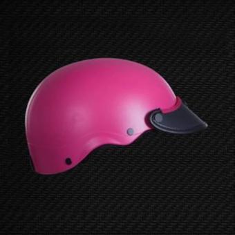 mũ bảo hiểm kiểu nón Sơn (hồng)