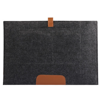 Button Bladder Bag for Apple Macbook Air 11'' (Black) - intl