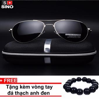 Kính mát nữ thời trang cao cấp SINO SN682+ Tặng kèm vòng tay thạch anh đen