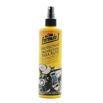 Chất bảo dưỡng ô tô 2 trong 1 Formula 1 - Fragranced Protectant 613710 hương Coconut 315ml (Vàng)