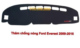 Thảm chống nắng Taplo ô tô Ford Everest đời 2009-2016