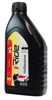 Dầu nhớt động cơ kỹ thuật tổng hợp dành cho xe máy 2 thì eni i-Ride 2T SML, API TC, JASO FC 1L
