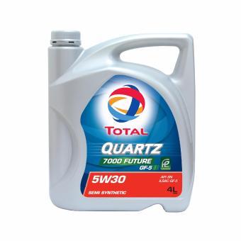 Nhớt xe ô tô Total Quartz 7000 5W30 4L