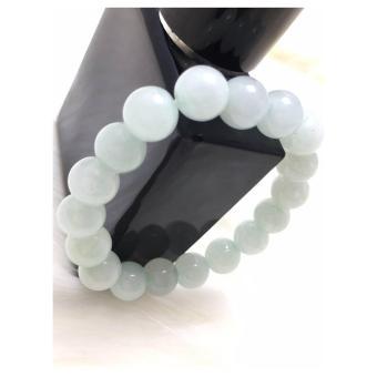 Vòng đá phong thuỷ màu trắng xanh PT2017