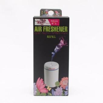 Dầu châm nước hoa ô tô Famingo Q42-2 hương Sakura 60ml (Hồng)