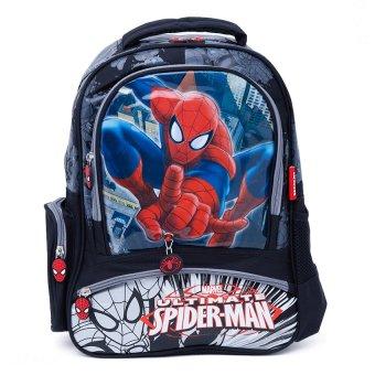 Balo học sinh trẻ em Spider Man siêu nhẹ cho bé trai ( BLSP16XD )