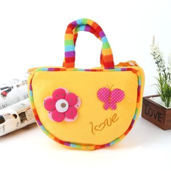 Túi hoa công chúa dễ thương cho bé gái (Vàng)